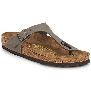 Topánky Ženy Žabky Birkenstock GIZEH šedá kamenná