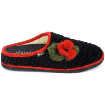 Topánky Ženy Papuče Fargeot Siberie Noir Fleur Čierna