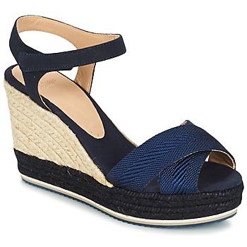 Topánky Ženy Sandále Castaner VERONICA Námornícka modrá / Čierna