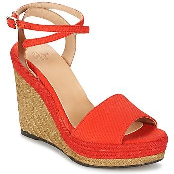 Topánky Ženy Sandále Castaner ADELA Červená