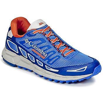 Topánky Muži Bežecká a trailová obuv Columbia BAJADA™ III Modrá / Oranžová