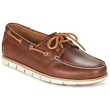 Topánky Muži Námornícke mokasíny Timberland TIDELANDS 2 EYE Hnedá