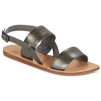 Topánky Ženy Sandále Timberland CAROLISTA SLINGBACK Šedá