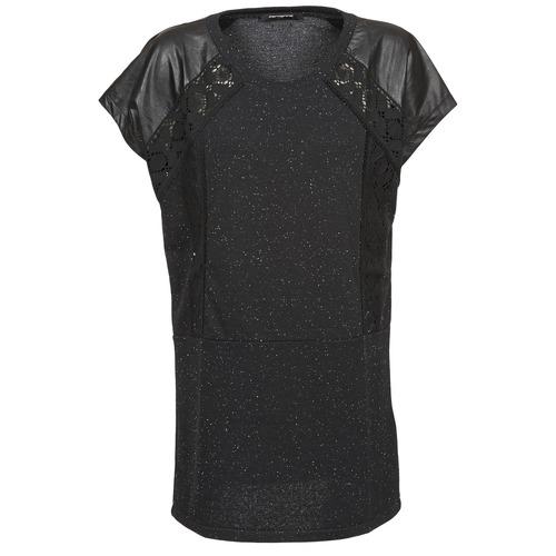 Oblečenie Ženy Tričká s krátkym rukávom Fornarina DALHIA Čierna