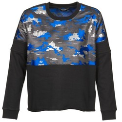 Oblečenie Ženy Mikiny Eleven Paris FORTEX Čierna / Modrá