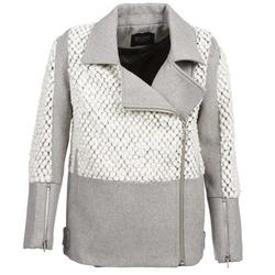 Oblečenie Ženy Kabáty Eleven Paris FLEITZ Šedá / Béžová
