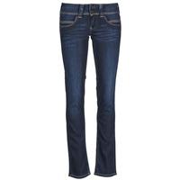 Oblečenie Ženy Rovné džínsy Pepe jeans VENUS Modrá / H06
