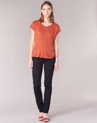Oblečenie Ženy Nohavice päťvreckové Pepe jeans VENUS Čierna