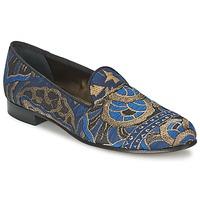 Topánky Ženy Mokasíny Etro 3046 Čierna / Modrá