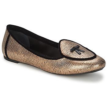Topánky Ženy Balerínky a babies Etro 3078 Zlatá