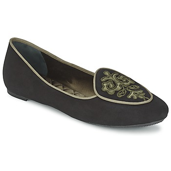 Topánky Ženy Balerínky a babies Etro 3059 Čierna / Kaki