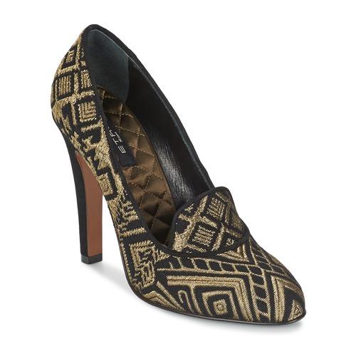 Topánky Ženy Lodičky Etro 3055 Čierna / Zlatá