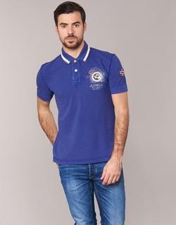 Oblečenie Muži Polokošele s krátkym rukávom Napapijri GANDYS Modrá