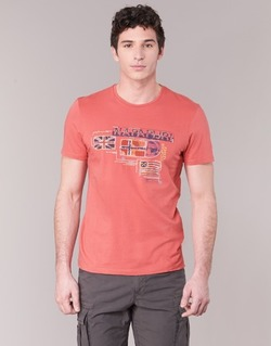 Oblečenie Muži Tričká s krátkym rukávom Napapijri VINTAGE Koralová