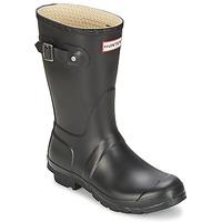 Topánky Ženy Čižmy do dažďa Hunter WOMEN'S ORIGINAL SHORT Čierna
