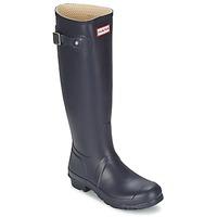 Topánky Ženy Čižmy do dažďa Hunter Women's Original Tall Modrá