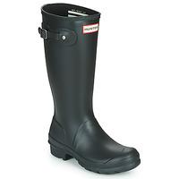 Topánky Deti Čižmy do dažďa Hunter ORIGINAL KIDS čierna