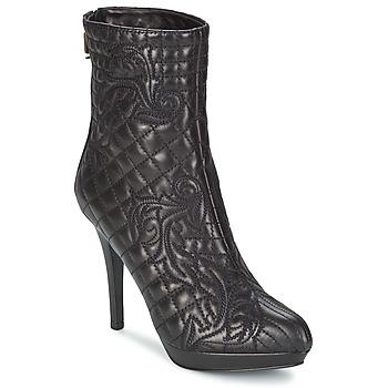 Topánky Ženy Čižmičky Versace MARGHERITA Čierna