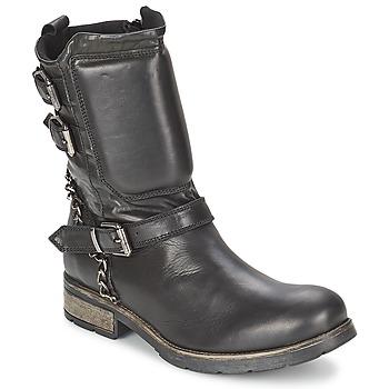 Topánky Ženy Polokozačky Casual Attitude SERIS Čierna