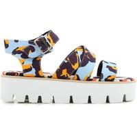 Topánky Ženy Sandále Msgm 2042MDS62 014 multicolore