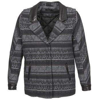 Oblečenie Ženy Kabáty Color Block ALTONA Čierna
