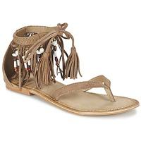Topánky Ženy Sandále Vero Moda VMKAYA LEATHER SANDAL Koňaková