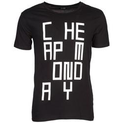 Oblečenie Muži Tričká s krátkym rukávom Cheap Monday TYLER Čierna