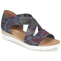 Topánky Ženy Sandále Gabor WOLETTE Modrá / Fialová