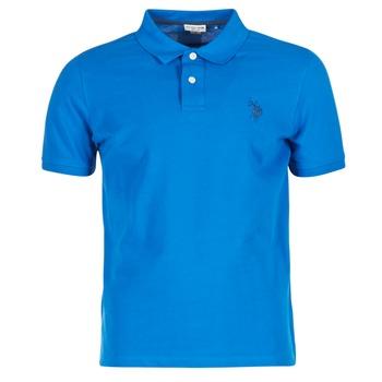 Oblečenie Muži Polokošele s krátkym rukávom U.S Polo Assn. INSTITUTIONAL Modrá
