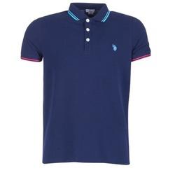 Oblečenie Muži Polokošele s krátkym rukávom U.S Polo Assn. BARNEY Námornícka modrá