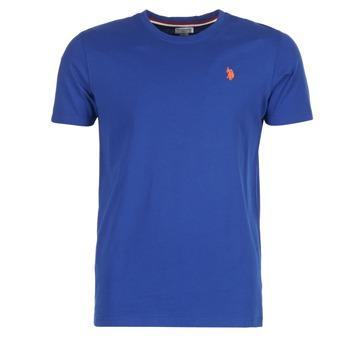 Oblečenie Muži Tričká s krátkym rukávom U.S Polo Assn. DBL HORSE Modrá