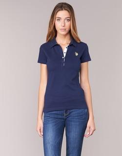 Oblečenie Ženy Polokošele s krátkym rukávom U.S Polo Assn. LOGO Námornícka modrá