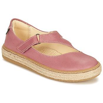 Topánky Dievčatá Balerínky a babies El Naturalista JASPER Ružová