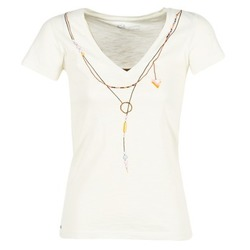 Oblečenie Ženy Tričká s krátkym rukávom Oxbow TWIN Biela