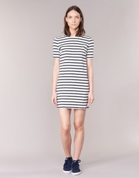 Oblečenie Ženy Krátke šaty Loreak Mendian HAMABI Námornícka modrá / Biela