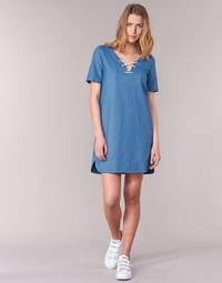 Oblečenie Ženy Krátke šaty Loreak Mendian TXANGAI Modrá