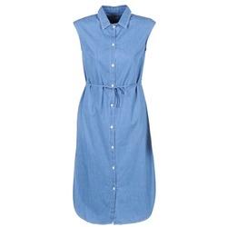 Oblečenie Ženy Dlhé šaty Loreak Mendian BAT ARKANSAS Modrá