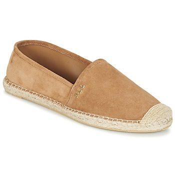 Topánky Ženy Espadrilky Ralph Lauren DANITA ESPADRILLES CASUAL ťavia hnedá