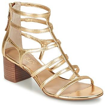 Topánky Ženy Sandále Ralph Lauren MADGE SANDALS DRESS Zlatá