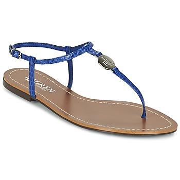 Topánky Ženy Žabky Ralph Lauren AIMON SANDALS CASUAL Modrá