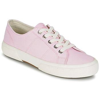 Topánky Ženy Nízke tenisky Ralph Lauren JOLIE SNEAKERS VULC Ružová