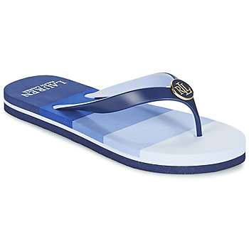 Topánky Ženy Žabky Ralph Lauren ELISSA III SANDALS CASUAL Modrá