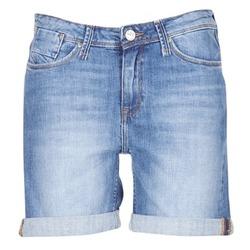 Oblečenie Ženy Šortky a bermudy Lee BOYFRIEND SHORT Modrá / Medium