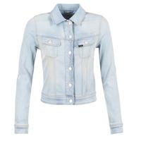 Oblečenie Ženy Džínsové bundy Lee SLIM RIDER Modrá / Clear
