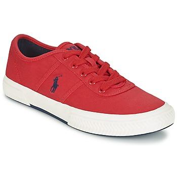 Topánky Muži Nízke tenisky Ralph Lauren TYRIAN červená