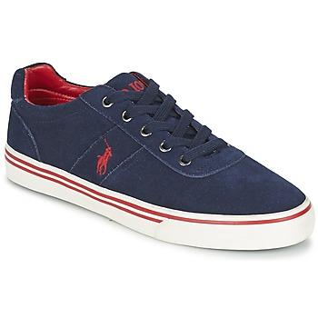 Topánky Muži Nízke tenisky Ralph Lauren HANFORD Námornícka modrá