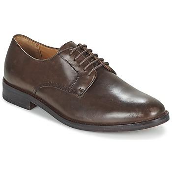 Topánky Muži Derbie Ralph Lauren MOLLINGTON Hnedá
