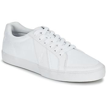 Topánky Muži Nízke tenisky Ralph Lauren HUGH Biela