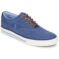 Topánky Muži Nízke tenisky Ralph Lauren VAUGHN Modrá
