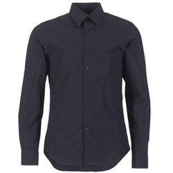 Oblečenie Muži Košele s dlhým rukávom G-Star Raw CORE SHIRT Námornícka modrá
